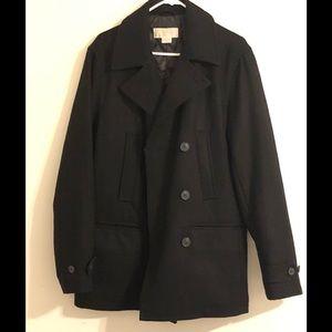 Authentic black Wool Michael Kors coat. NWOT